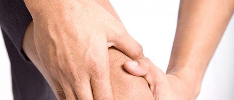 как лечить выпот в коленном суставе