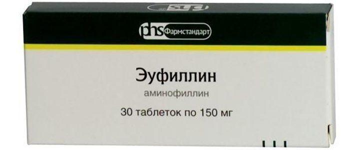 Эуфиллин при остеохондрозе: как использовать, состав