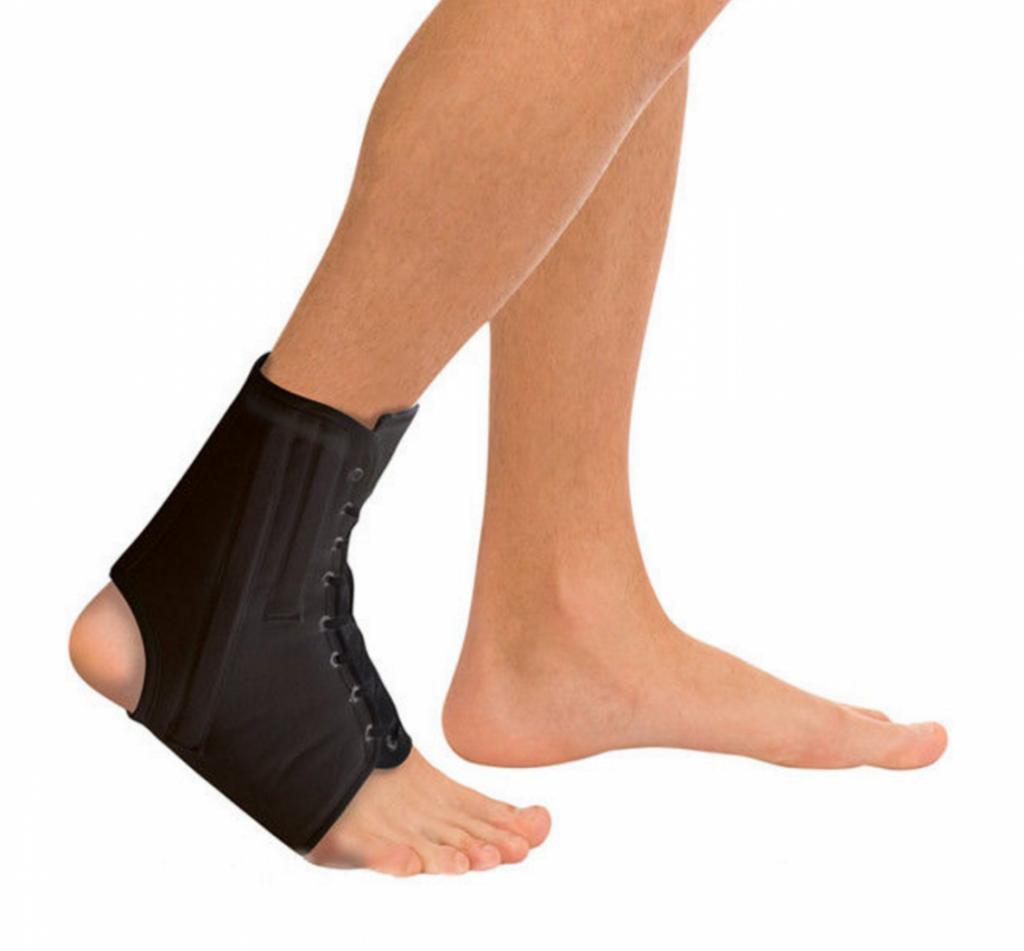 ортез на голеностопный сустав когда носить