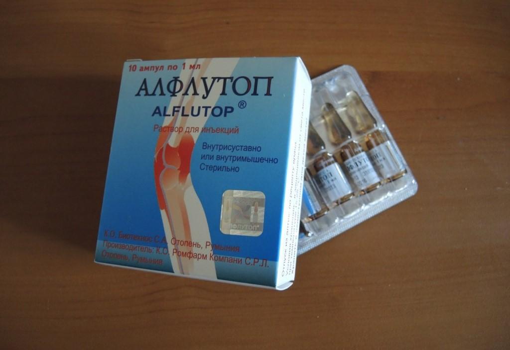 Эффективность алфлутопа при грыже позвоночника