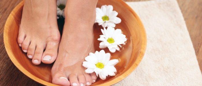 Ванночки при подагре ног: польза, вред, рецепты