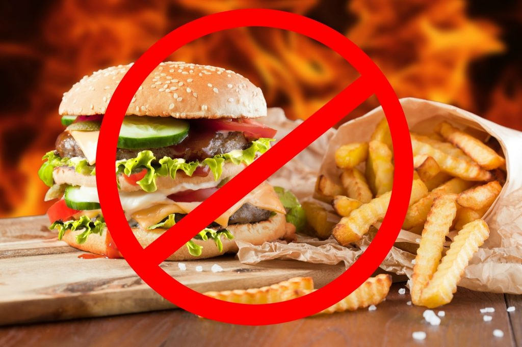 why fast food should be limited