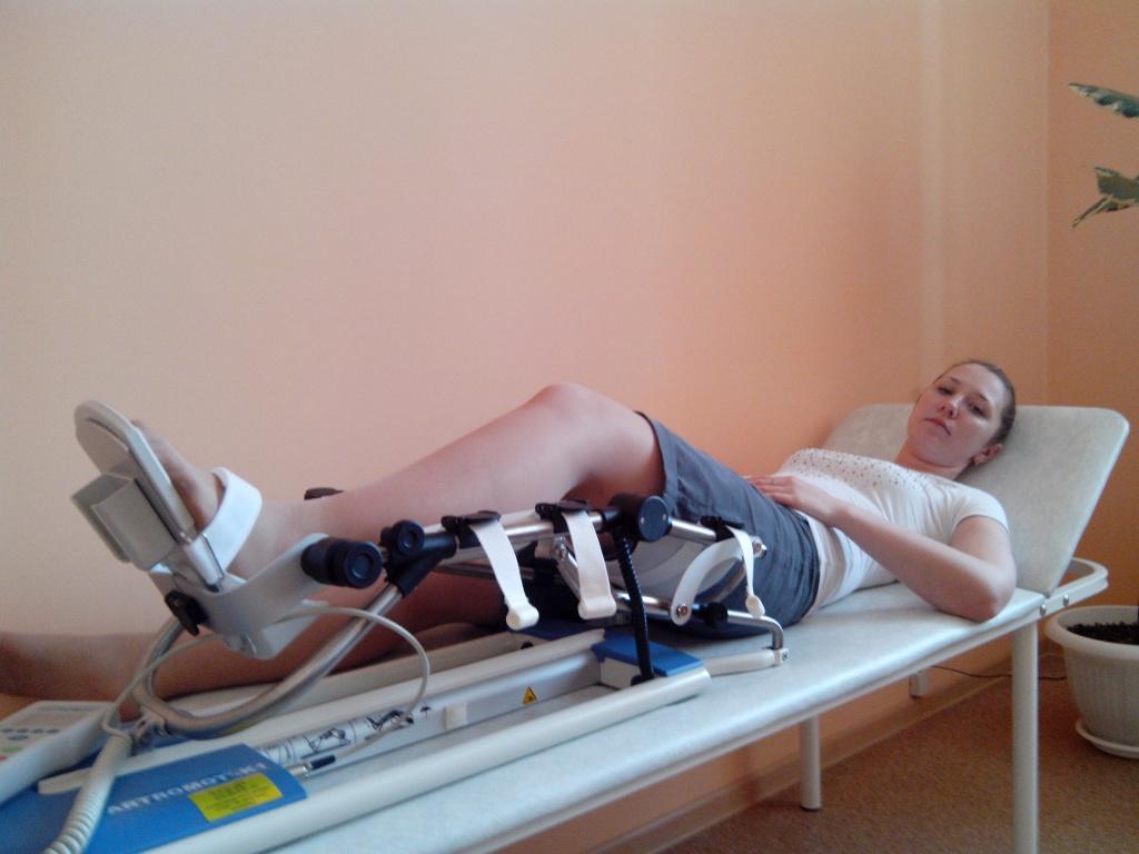 тренажеры для разработки коленного сустава напрокат