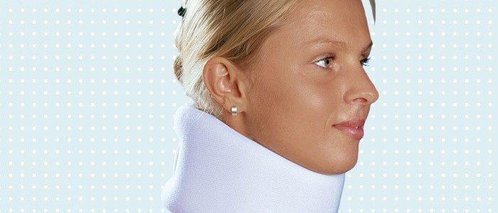 Бандаж шейного отдела мягкий сколько носить